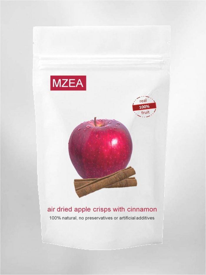 natural and healthy apple snack