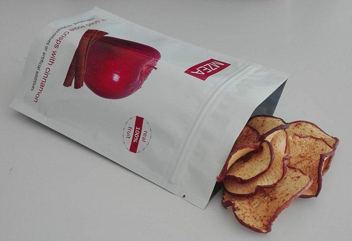 φυσικό και υγιεινό σνακ μήλου