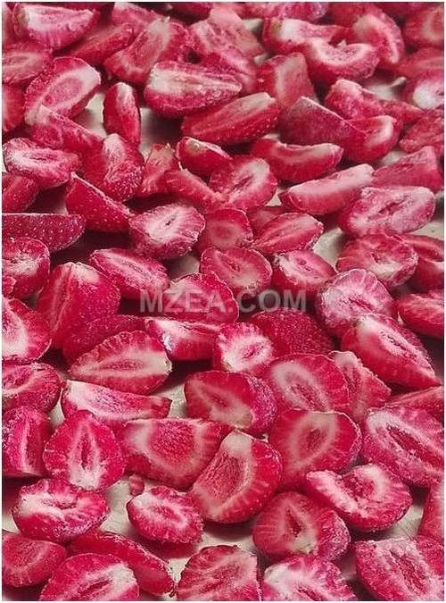freeze dried strawberry without sugar