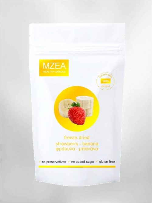 freeze dried strawberries - bananas no additives