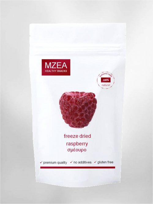 freeze dried σμέουρο χωρίς πρόσθετα